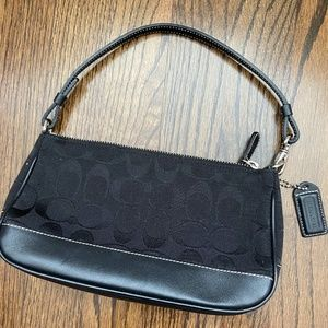 AUTHENTIC COACH small shoulder purse in black